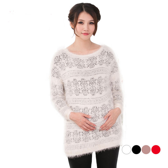 High quality full sleeve winter maternity sweater for pregnancy<br>