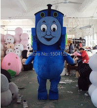 Thomas the Tank Engine Railway Train Plush Mascot Costume Adult Size Fancy Dress Suit Free Ship(China)