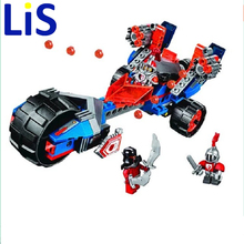 Lis Bela 10516 Macy's Thunder Mace building Blocks Bricks Toys Game Toys for children Castle Weapon Car Decool Lepin 70319(China)