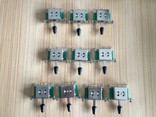 3 Way Selector Electric Guitar Pickup Switches Guitar Toggle Lever Switches for Guitar black