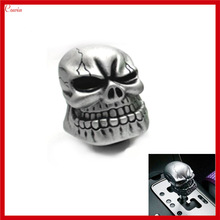 New Cool Ghost Head Bone Carved Skull Gear Shift Knob Auto Car Gear Knob Shift Head