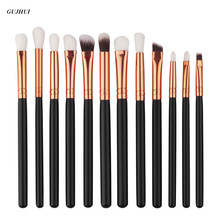 12Pcs GUJHUI Professional makeup brushes sets eyebrow maquillage Concealer pinceis brush make up brushes Foundation cosmetics