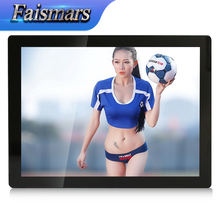 "Faismars 19 Inch Capacitive Square Touch Screen LCD Monitor VGA/DVI Input, 19"" Embedded Touchscreen Industrial Monitor(China)"