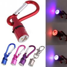 New Cool Flashing LED Collar Tag for Dog Cat Pet Aluminum Waterproof Safety Free shipping