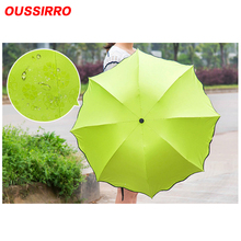 Encounter Water Flowering Seventy Percent Off Black Glue Sunscreen UV Protection Umbrella Advertising Gifts