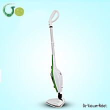 Handle Garment Steamer mop cleaner disinfection 10in1 CE&RoHs certification mop cleaner with different brush nozzles(China)