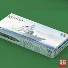 Hobbyboss Trumpeter  1/700 scale ship 83412  USS LASSEN DDG-82  battleship assembly model kits Modle building scale battleship