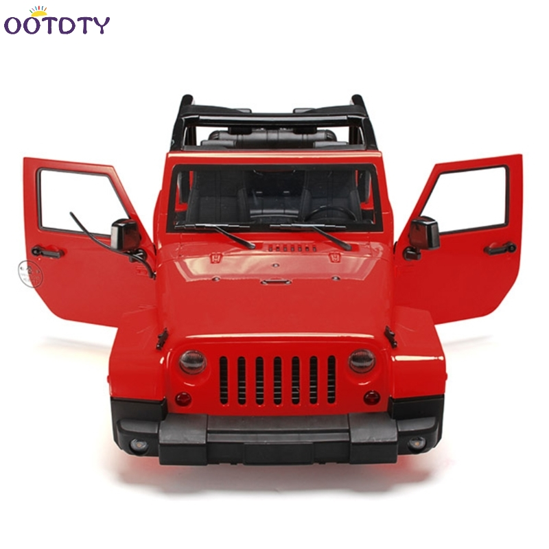 1/10 RC Remote Control Truck Hard Body Shell Canopy Rubicon Topless For SCX10/D90<br>