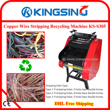 Electric Scrap Wire Stripping Machine KS-S305 + Free shipping by DHL air express (door to door service)