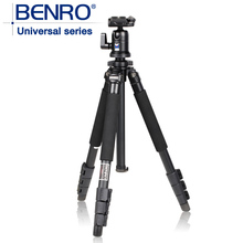 Benro a550fbh1 Original Tripod For SLR Camera Reflexum Professional Tripod Carbon Fiber Tripod Functional Monopod Climbing Stick(China)
