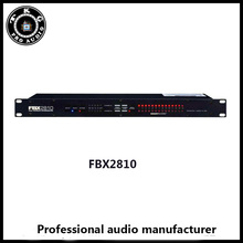 karaoke sound KTV professional sound system FBX2810 audio speaker feedback controller Feeback Suppressor Feedback destroyer(China)