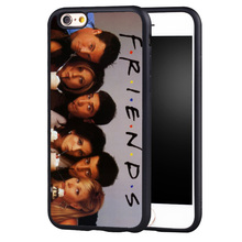 Funny Tv Show Friends living in Manhattan Soft TPU Skin Mobile Phone Cases For iPhone 6 6S Plus SE 5 5S 5C 4 4S Back Shell Cover