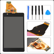 For Sony Xperia ZR M36h C5503 C5502 LCD Display Touch Screen Digitizer Full Assembly+Repair Tools Free Shipping