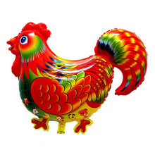 helium foil animal balloons ballons balon wedding birthday decoration party supplies big chook chicken cock rooster balloons