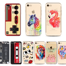 Retro Classical Boy Game Camara Cassette 3D Cartoon Printed Cases for Apple iPhone 6 6s plus 6plus 5 5g 5s se Cell Phone Cases(China)