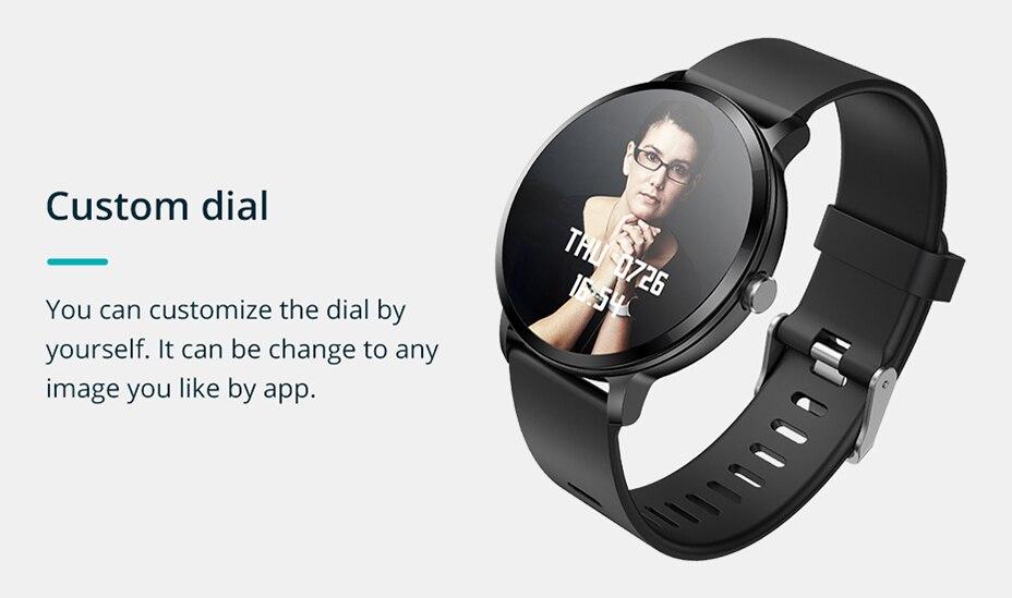 COLMI V11 Smart watch IP67 waterproof Tempered glass Activity Fitness tracker Heart rate monitor BRIM Men women smartwatch 9