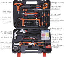 High quality 82pcs Manual Hardware Tools Set Woodworking Power Toolbox Household Set Combination LUBAN
