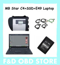 E49+MB Star C4 SD Connect+V17.07 SSD win7 Xentry Diagnostics System Compact 4 Mercedes Diagnosis Multiplexer For Benz Diagnose
