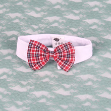 Fancy Plaid Dog Tie Pet Supplies Cat Dog Bowtie Wedding Accessories Collar Holiday Grooming Products bow tie cat collar 05S3