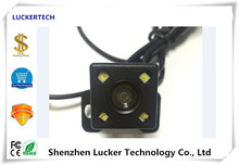 Luckertech Car Rearview Reversing Camera NightVision Waterproof IP67 Vechile Wide Angle with white LED Light Parking assist(China)