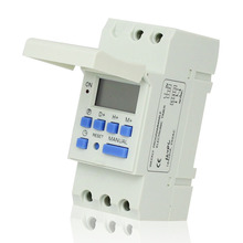 AHC15 Microcomputer Electronic Weekly Programmable Digital TIMER SWITCH Time Relay Control 220V AC 16A Din Rail Moun
