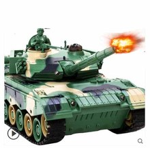 Kingtoy Rc Battle Tank Remote Control War Shooting Tank large scale Radio Control Army battle Model millitary rc tanks Toy(China)