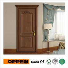Oppein Classical Wood Veneer Swing Interior Door (YDE003D)(China)