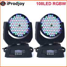 Led Moving Head Wash 108 Mini Stage Disco Dj Dmx Club Sound Music Lamp Rgbw lumiere Strobe Laser Show Beam Christmas Party Licht
