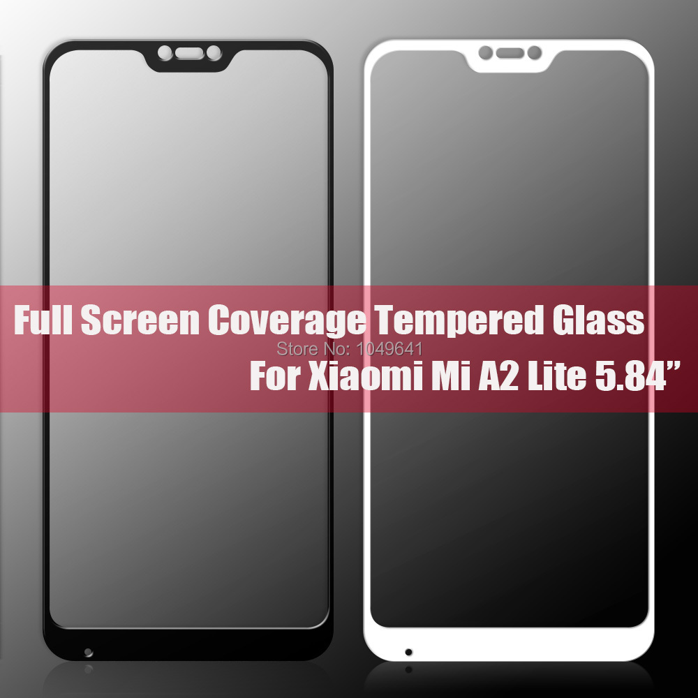 KXM1373_5_Full Coverage Glass For Xiaomi Mi A2 Lite 5.84 inch Screen Protector Protective Film