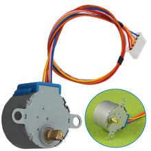 High quality!2015 New 5V DC 4 Phase 28BYJ-48 Valve Gear Stepper Motor Reduction(China)