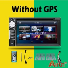 "New arrivals 6.2"" universal Car Radio Double 2 din Car DVD Player In dash Car PC Stereo Head Unit video without gps"