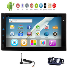 "Android 5.1 CD RDS 6.2"" Map EQ Receiver APP AMP GPS Car Stereo USB OBD2 NO-DVD Tablet DTV System Radio SD Sub BT(China)"