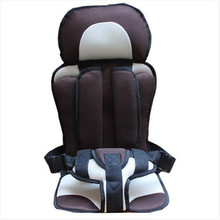 Portable Car Seats for Travel Child Safety Seat Mat, Infant Portable Carseats for 9 Months-4 Years Old Kids Car Chair(China)