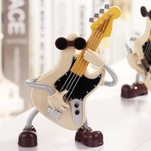 Z2313 LY2015 dynamic guitar music ornaments romantic couple gift fun swing music box(China)