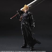 2017 Play Arts  Kai Cloud Strife Final Fantasy Figure 25cm Model Action Figure Toys