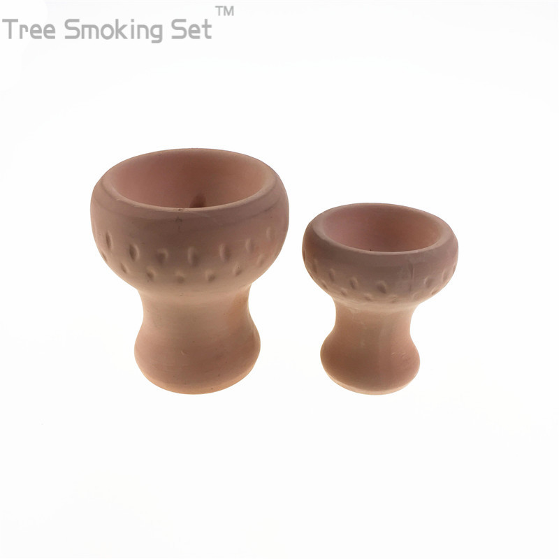 Image mini Turkey hookah bowl head put tobacco flover Flower or Molasses Ceramic Clay material shisha narguile hookah sheesha chicha