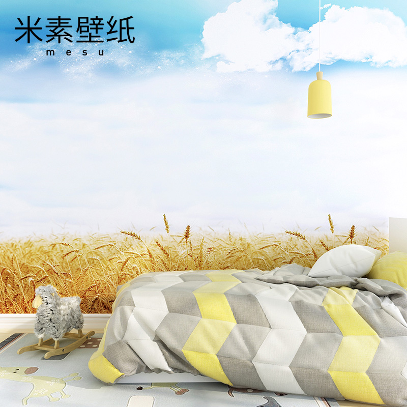 2016 New Sale Papier Peint Photo Wallpaper M In Plain Natural Garden Wallpaper Mural Background Murals On The Outskirts Of Tv <br><br>Aliexpress