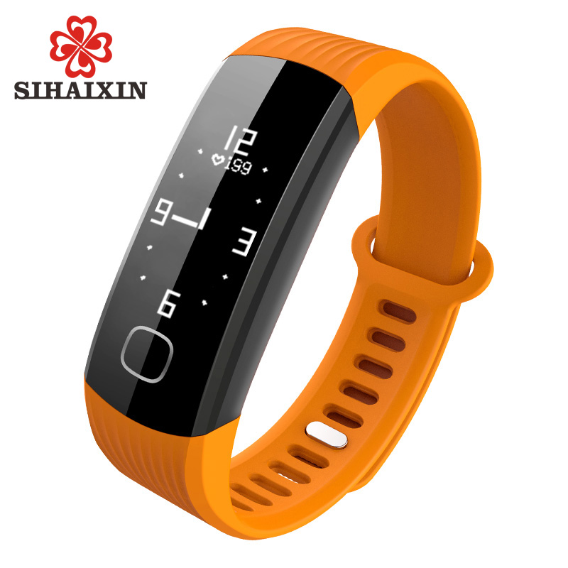 SIHAIXIN Electronic Clock Men Digital Sports Watches Pedometer Heart Rate Monitor Waterproof Smart Watch As Luxury Unisex Watch<br>