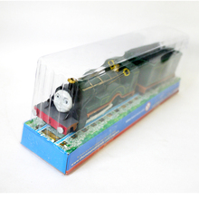 x009 Electric Thomas and friend emily and a carriage Gift boxes engine Motorized train Track kids toys(China)