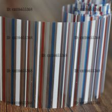 Nail Art Wholesaler Easy DIY Nail art Product Nail Glue Transfer Foil Mix Size and Color Stripe YC423