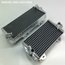 high performance 40mm L&R aluminum alloy radiator for Suzuki RMZ 450 RMZ450 2008 - 2014 2013 2012 2011 2010(China)