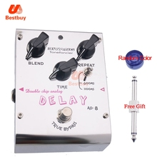 Biyang AD-8 Electric Guitar Bass Effect Pedal Double Chip Analog Delay True Bypass Brand New