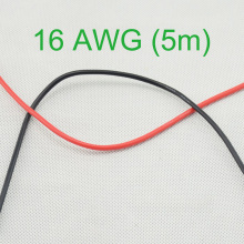 16 AWG (5m) Gauge Silicone Wire Flexible Stranded Copper Cables for RC New