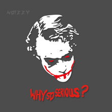 Batman Why so Serious Agents of SHIELD Car Auto Decal Sticker Cover Reflective Vinyl Window Body Pick Up SUV Van Car-Styling
