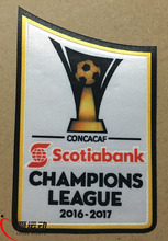 16-17 new CONCACAF Champions League soccer patch and 1516 CONCACAF Champions League patch