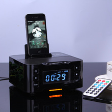 Bluetooth Speaker NFC Multiple docking station for play and charging for ipod for iphone samsung with FM Radio NFC(China)