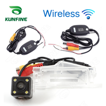 CCD Track Camera Wireless Reverse Camer  For Dodge Caliber 2011 Parking Camera Car Rear View Camera Track Line Night Vision LED