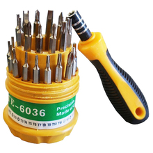 31pcs Screwdriver Set with Magnetic Tools Screwdriver Set PDA Phone Repair Kit Tools for Hard Drive Watch PSP(China)