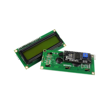 Smart Electronics LCD Module Display Monitor 1602 Yellow Green Screen White Code With IIC I2C for arduino DIY KIT