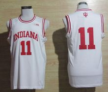 Indiana Hoosiers Isiah Thomas #11 retro throwback college basketball jerseys College Basketball Jersey Custom Any Name and Numbe(China)